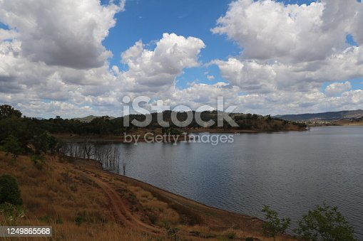 Chaffey Dam Peel River nearby Tamworth, New South Wales Australia