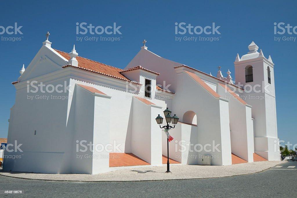 Chagas do Salvador Church stok fotoğrafı