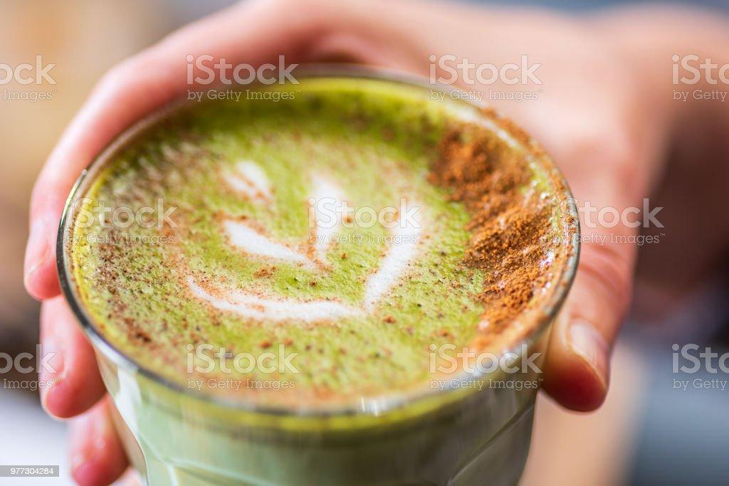chai late stock photo