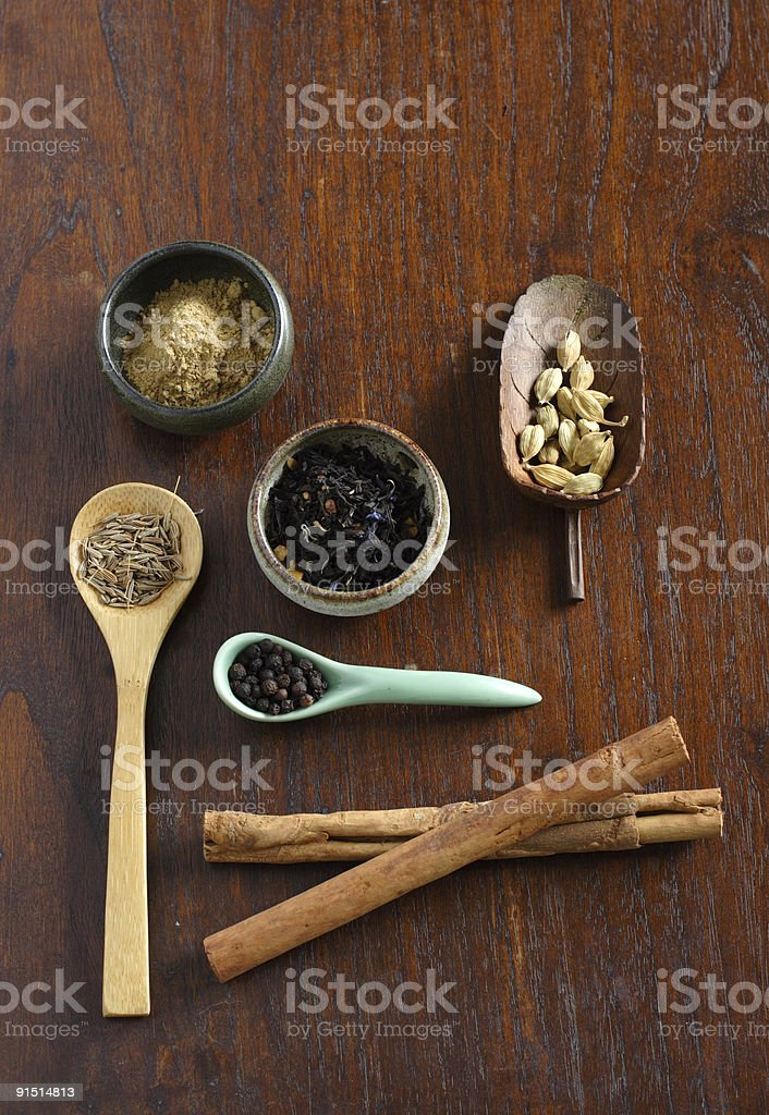 Chai Masala royalty-free stock photo