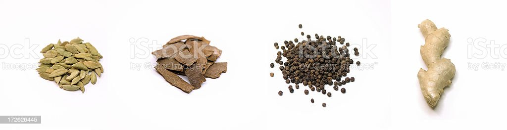 Chai Spices royalty-free stock photo