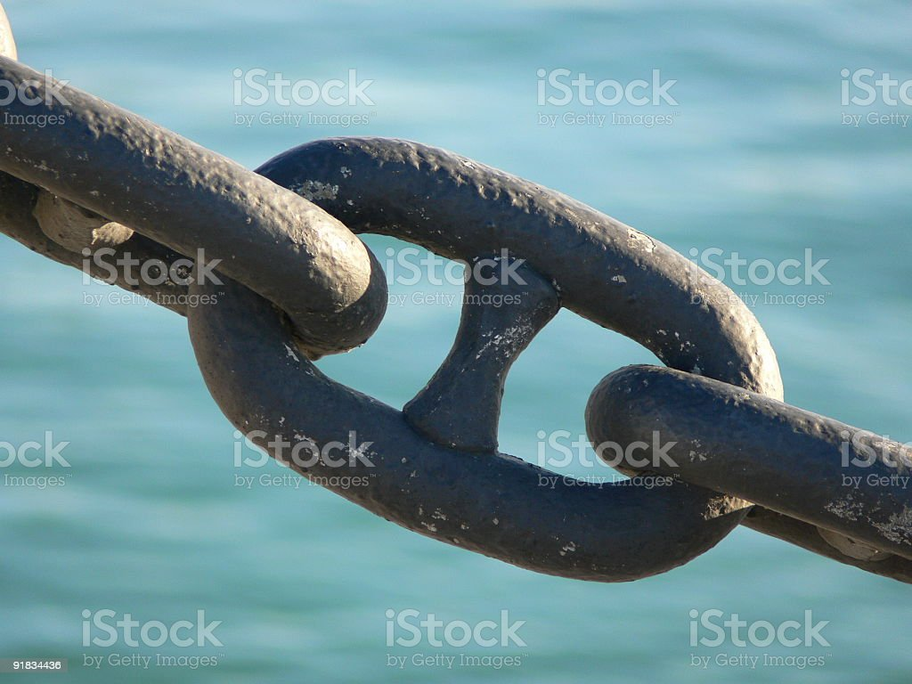 Chain 1 royalty-free stock photo