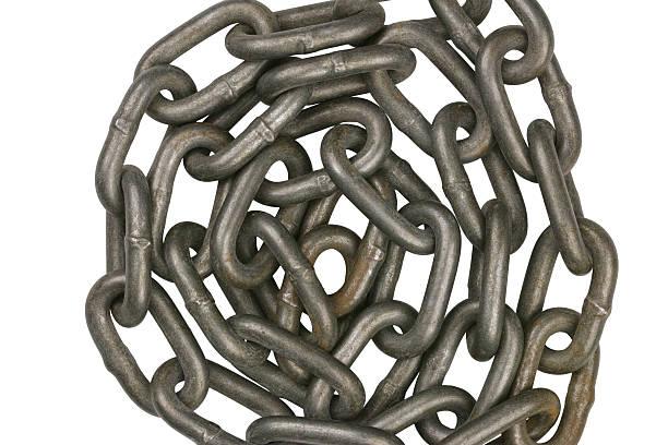 Chain 4 stock photo