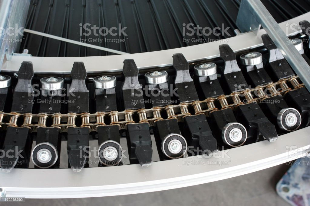 Chain and Bearings Detail royalty-free stock photo
