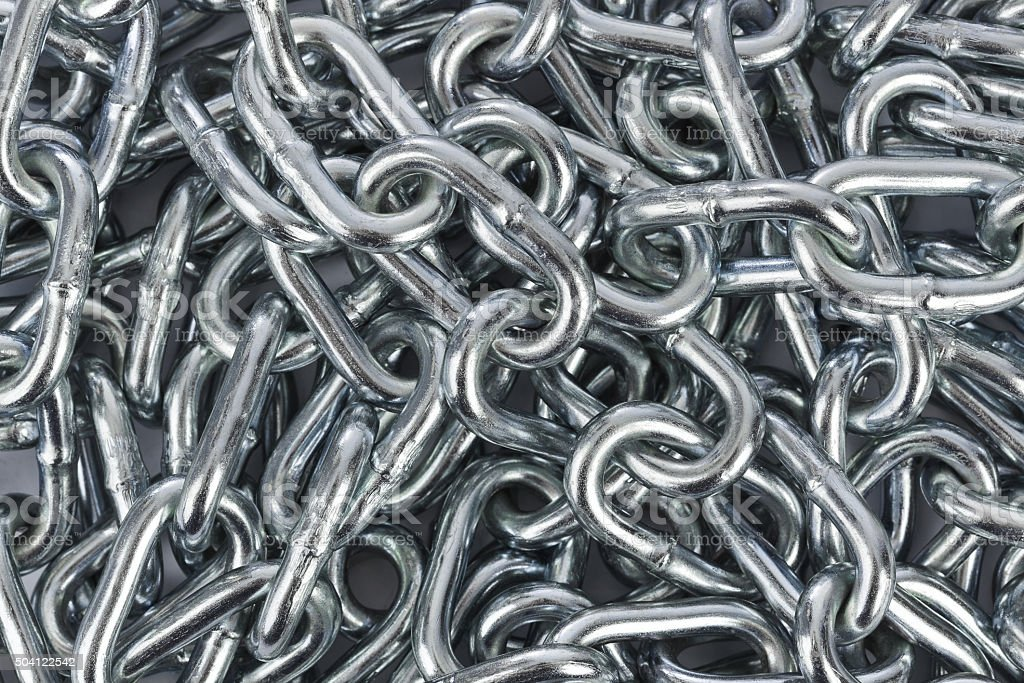 Chain background stock photo