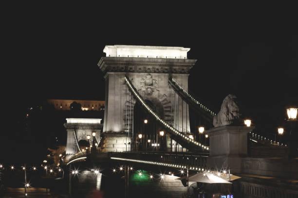 Chain Bridge - Budapest stock photo