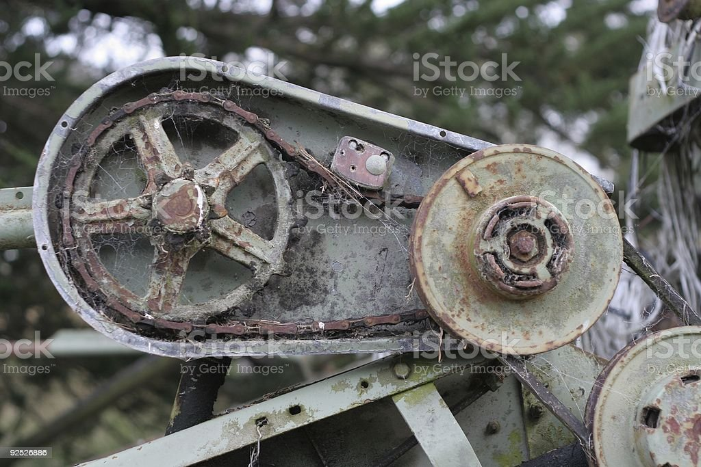 Chain drive royalty-free stock photo