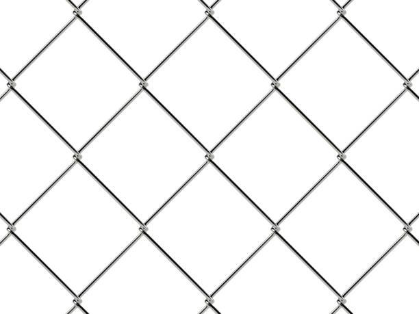 modèle de guide chaîne lien. papier peint style industriel - icône de ligne photos et images de collection