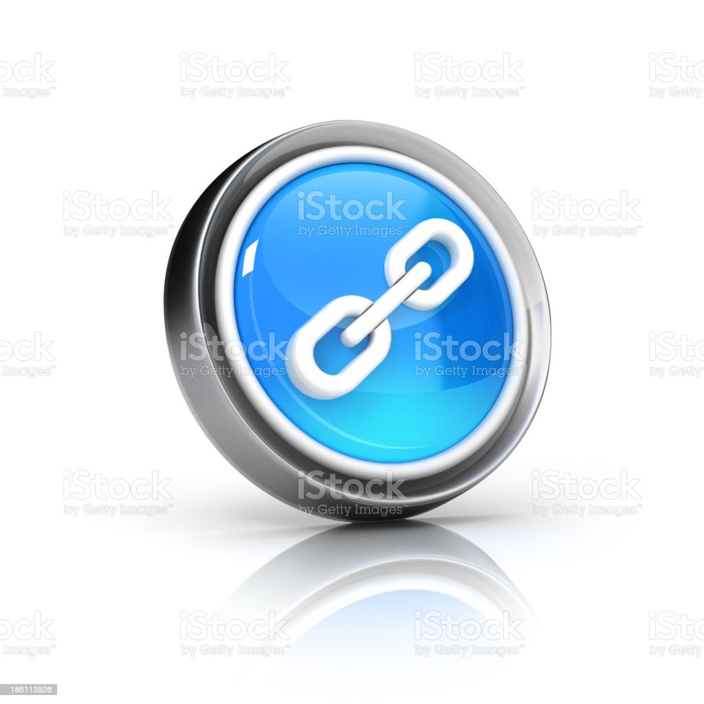 chain link icon royalty-free stock photo