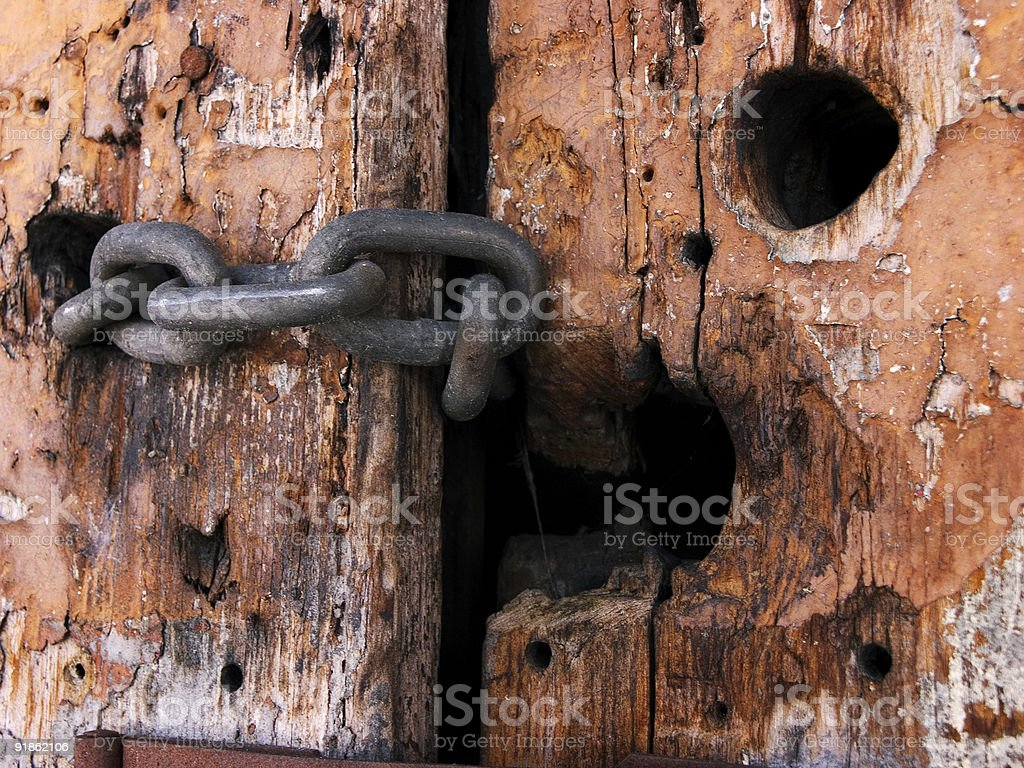 chain linked knot royalty-free stock photo