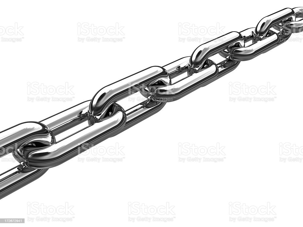 Chain Links royalty-free stock photo