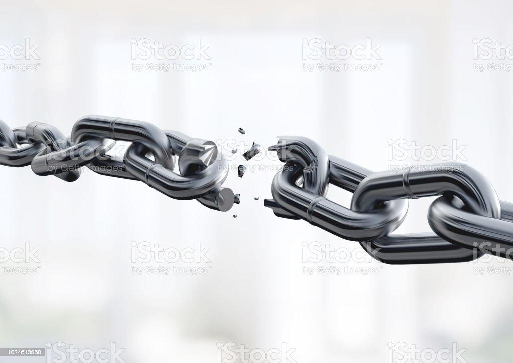 Chain. stock photo
