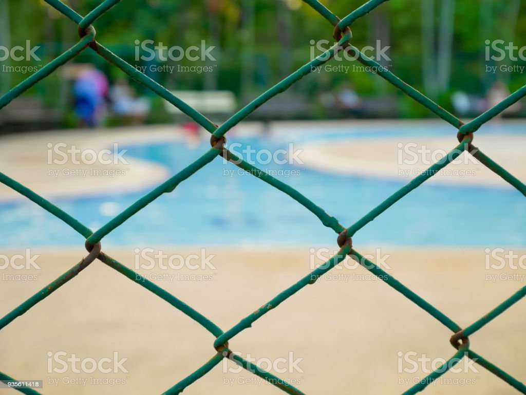 Chainlink Fence Stock Photo & More Pictures of Abstract | iStock
