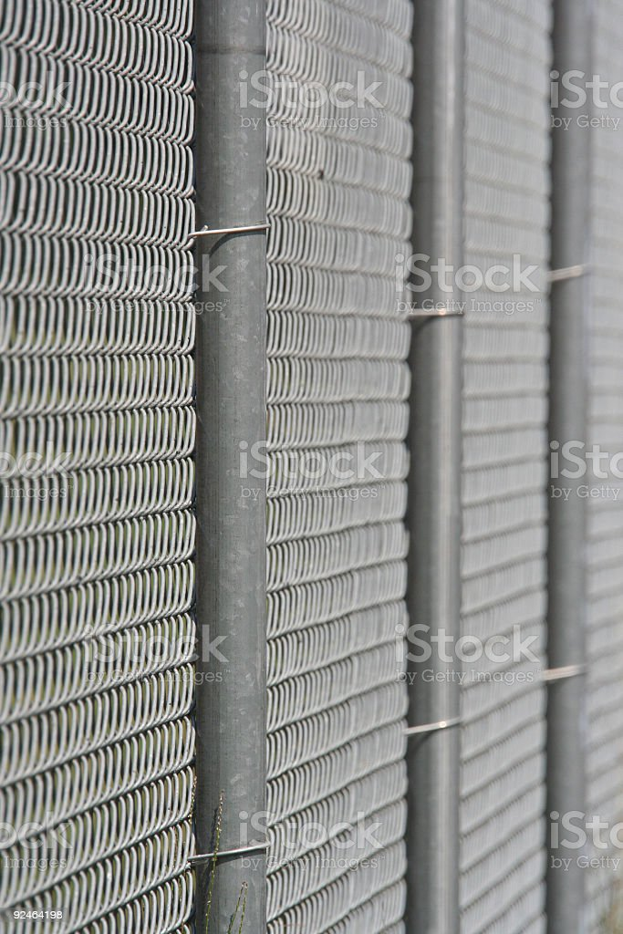 Chainlink Fence02 royalty-free stock photo