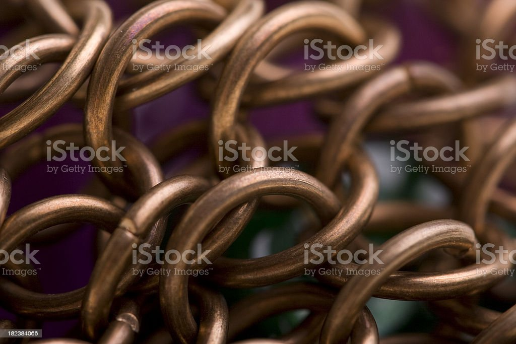 Chainmail royalty-free stock photo
