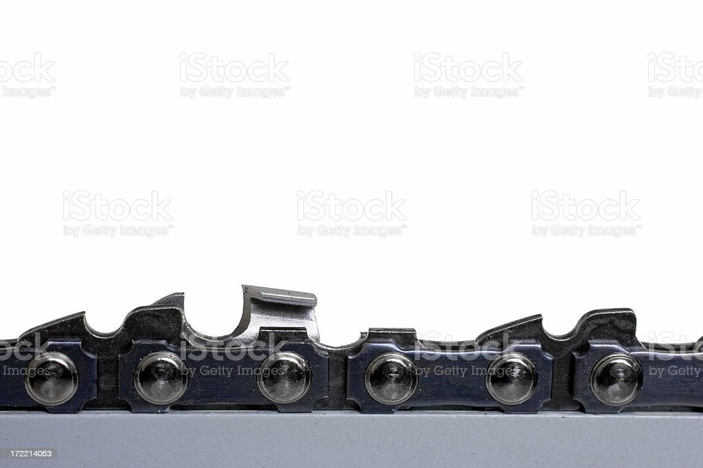 Chainsaw Blade royalty-free stock photo