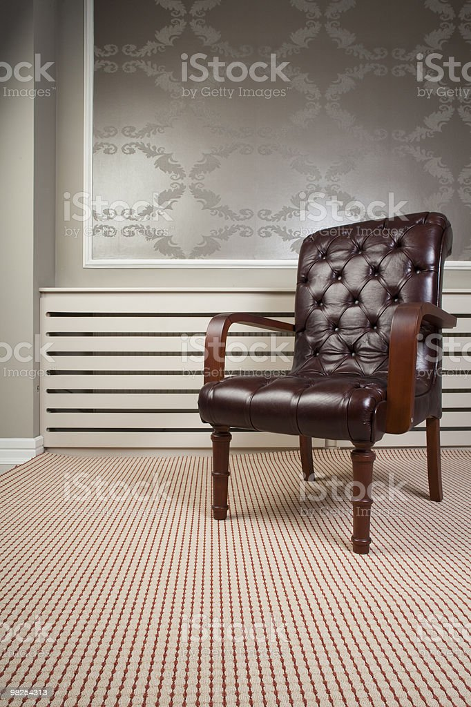 chair and carpet royalty-free stock photo