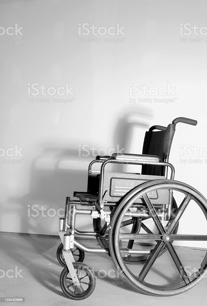 Chair and shadow royalty-free stock photo