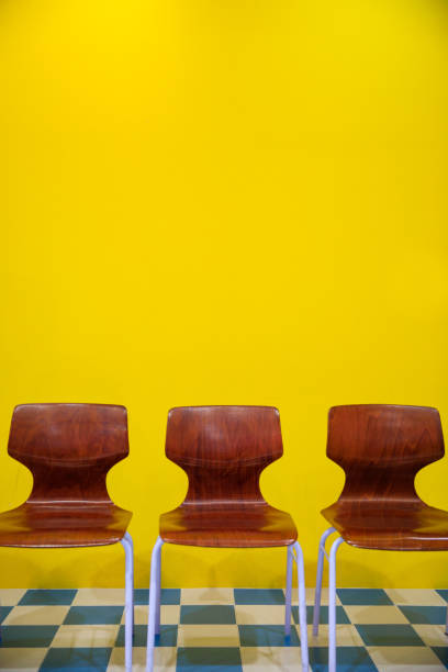 Chair background concept - recruitment hire hiring interview stock photo
