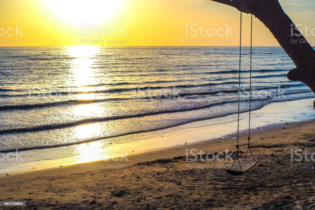 chair beach royalty-free stock photo