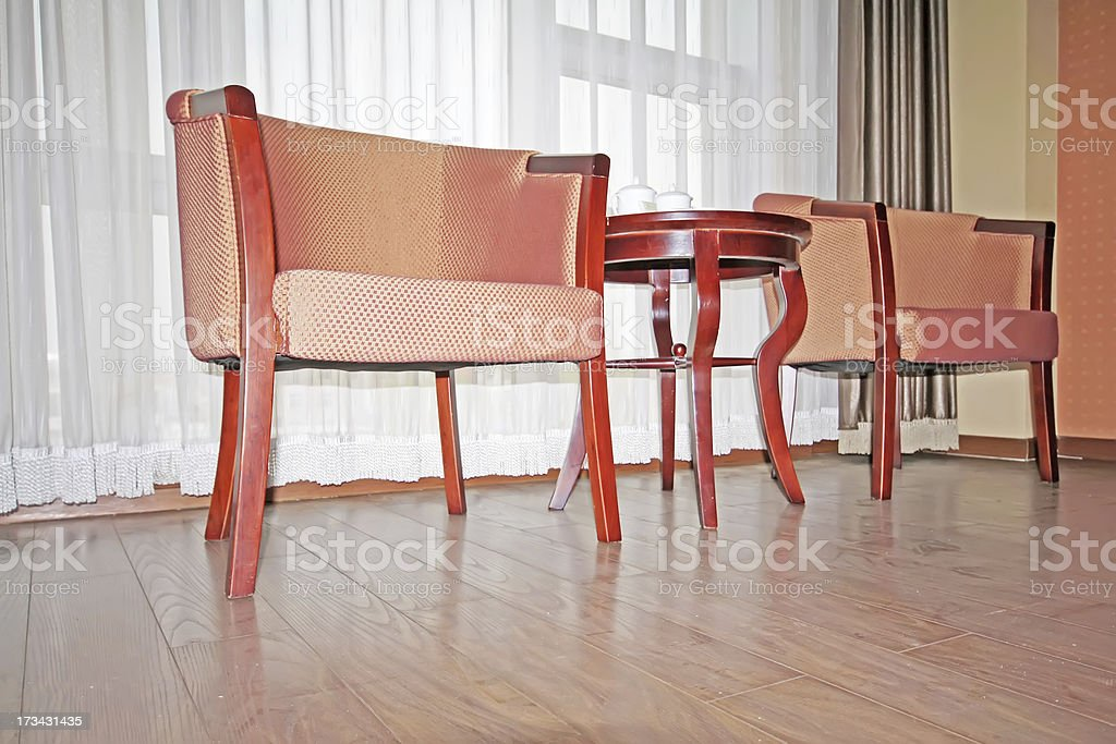 chair in a room royalty-free stock photo