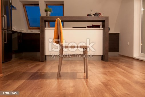 istock chair in contemporary kitchen interior 178401459