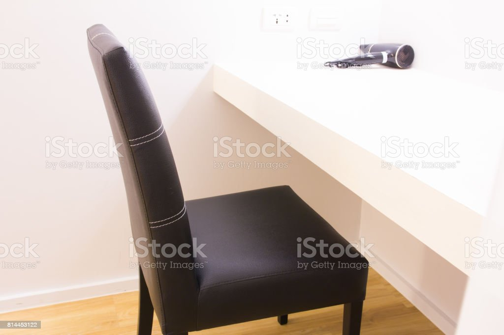 chair in the room stock photo