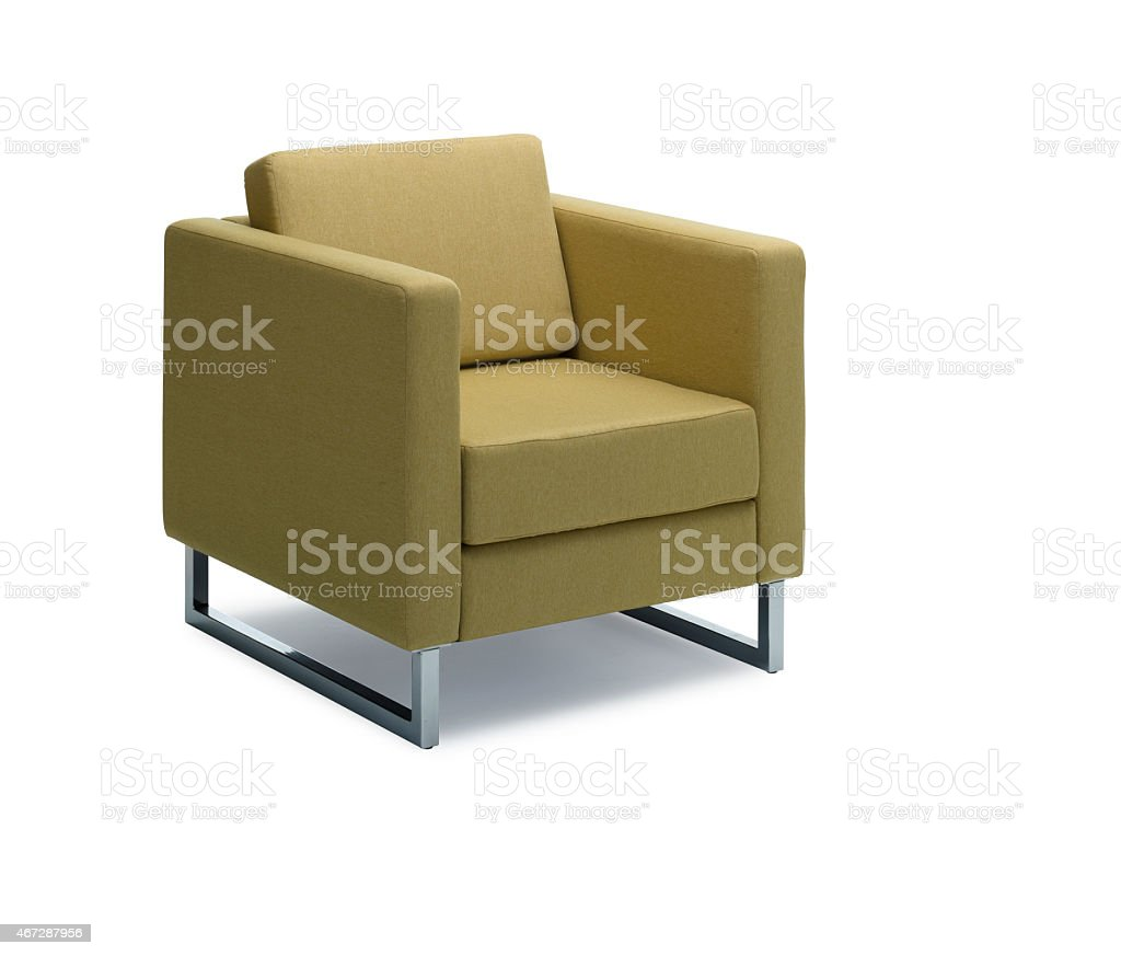 Chair Modern on White stock photo