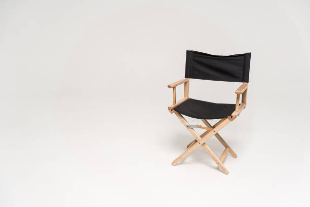 chair of the director - film director stock pictures, royalty-free photos & images