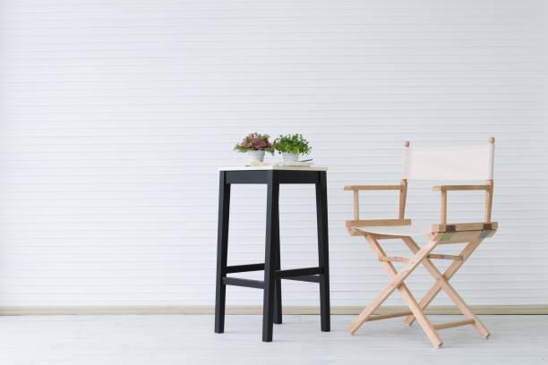 sandalye stok fotoğrafı