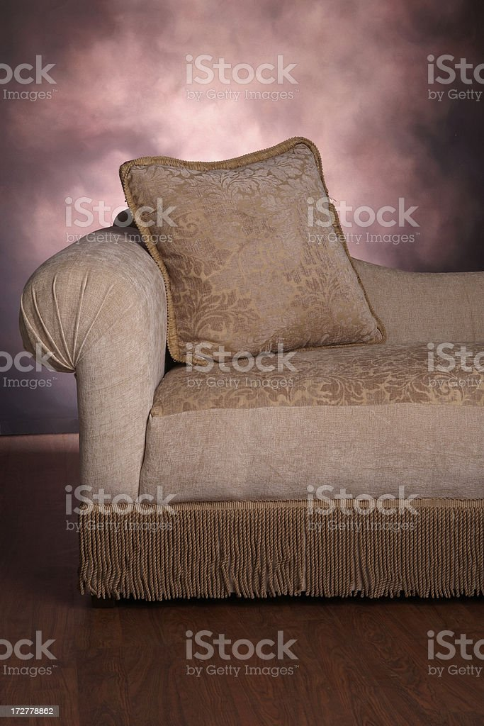 Chaise royalty-free stock photo