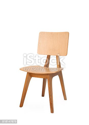 chair on white