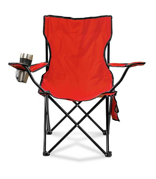 Chair Folding Picnic / Camping Chair foldable stock pictures, royalty-free photos & images