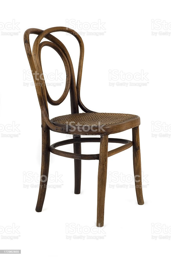 Chair w/Clippping path royalty-free stock photo