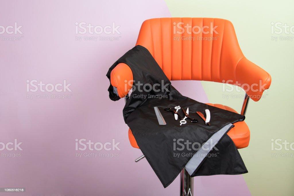 Mit Stockfoto Haare Schneiden Stuhl Für und Zubehör Master tsQrdh