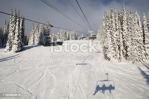 Silver Star ski resort, British Columbia
