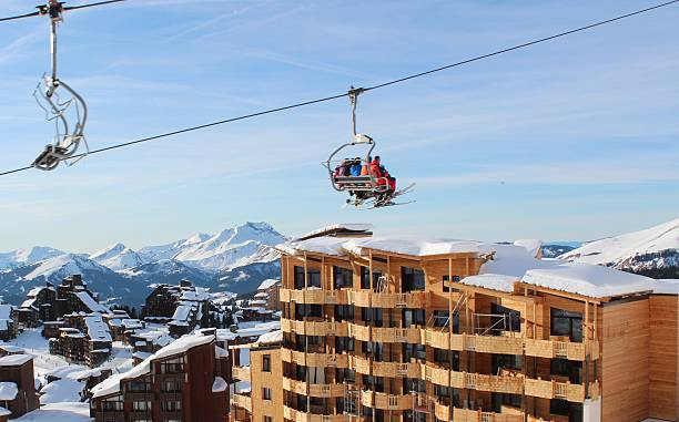 Télésiège d'Avoriaz - Photo
