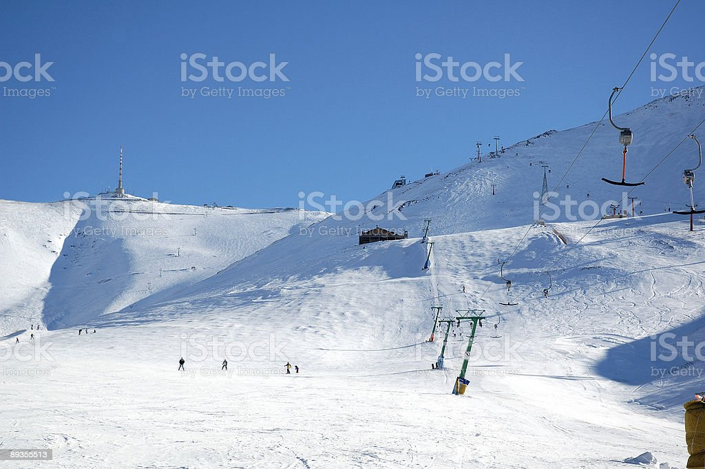 chairlift royalty free stockfoto