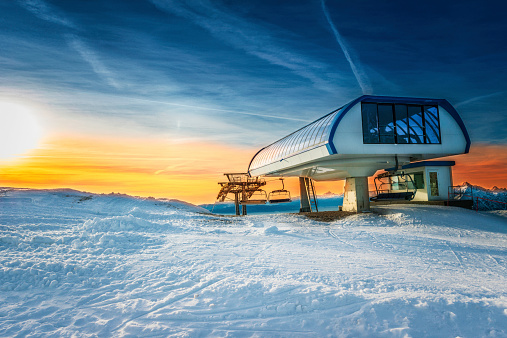 chairlift station