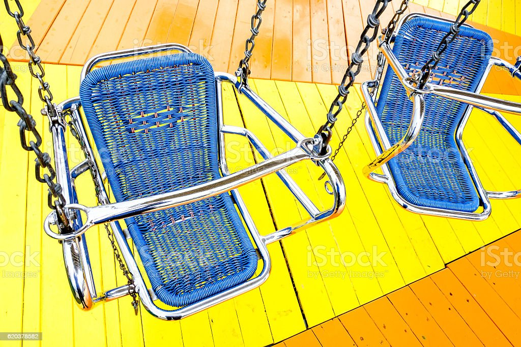 chairoplane seat foto de stock royalty-free