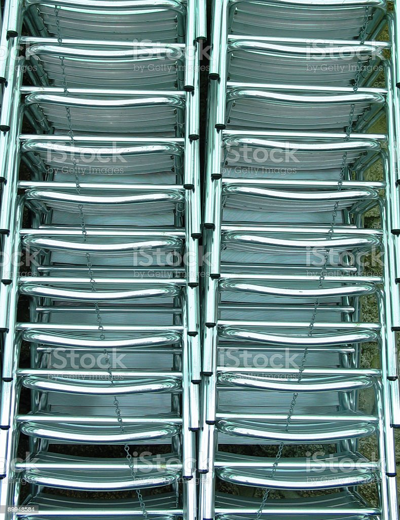 Chairs - Abstract stock photo