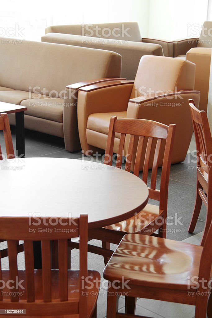Chairs And Tables At Coffee Shop Stock Photo Download Image Now Istock