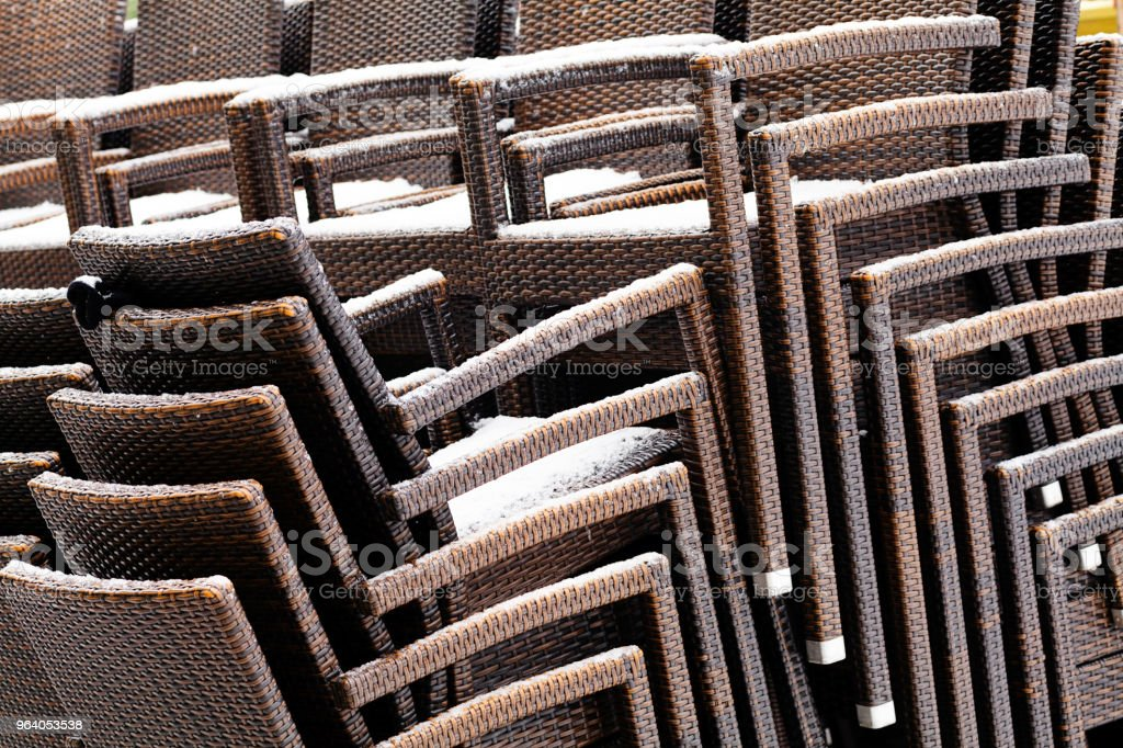 chairs for the garden - Royalty-free Brown Stock Photo