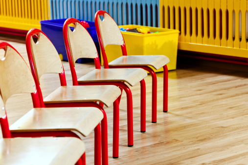 Chairs In A Row Stock Photo - Download Image Now