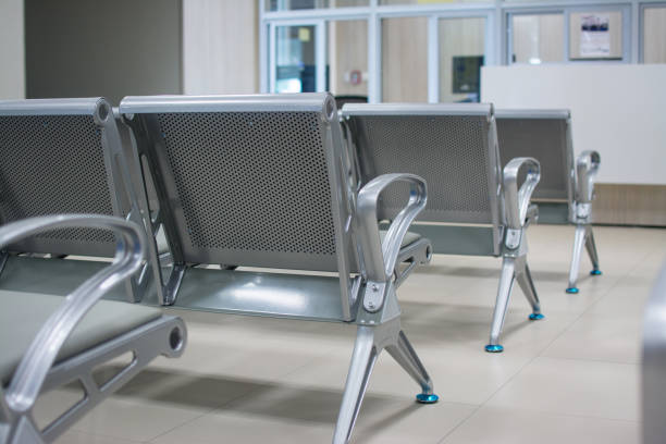 Chairs in the hospital . hospital interior Chairs in the hospital . hospital interior outpatient stock pictures, royalty-free photos & images