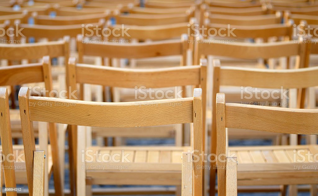 Chairs series royalty-free stock photo