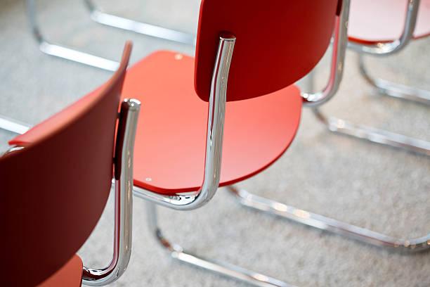 Monture chromée chaises avec tube - Photo