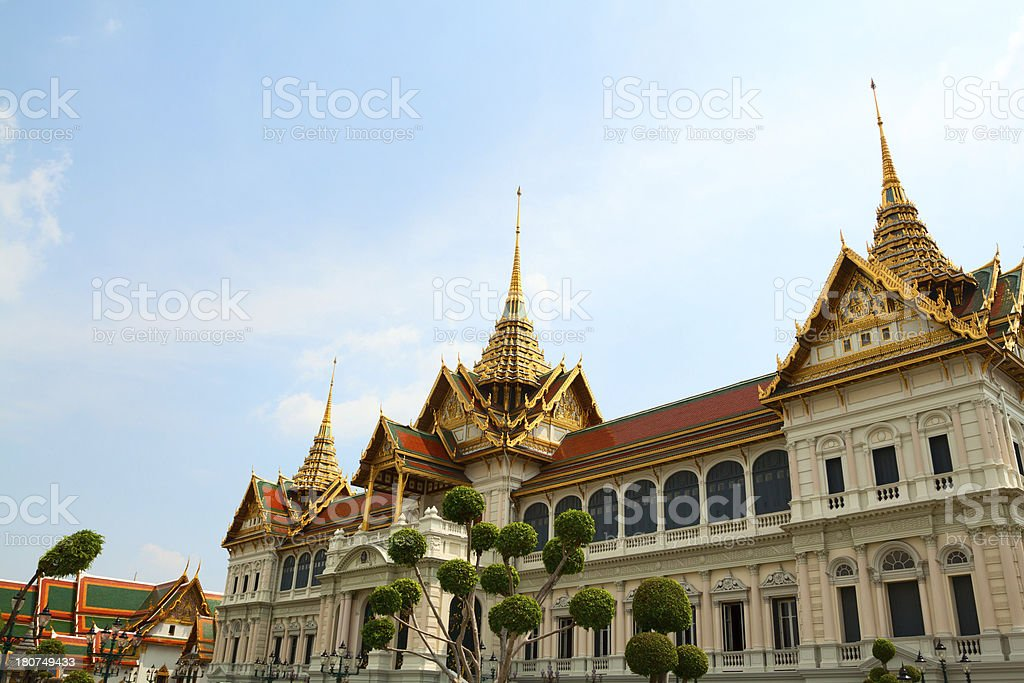 Chakri Maha Prasat Hall royalty-free stock photo