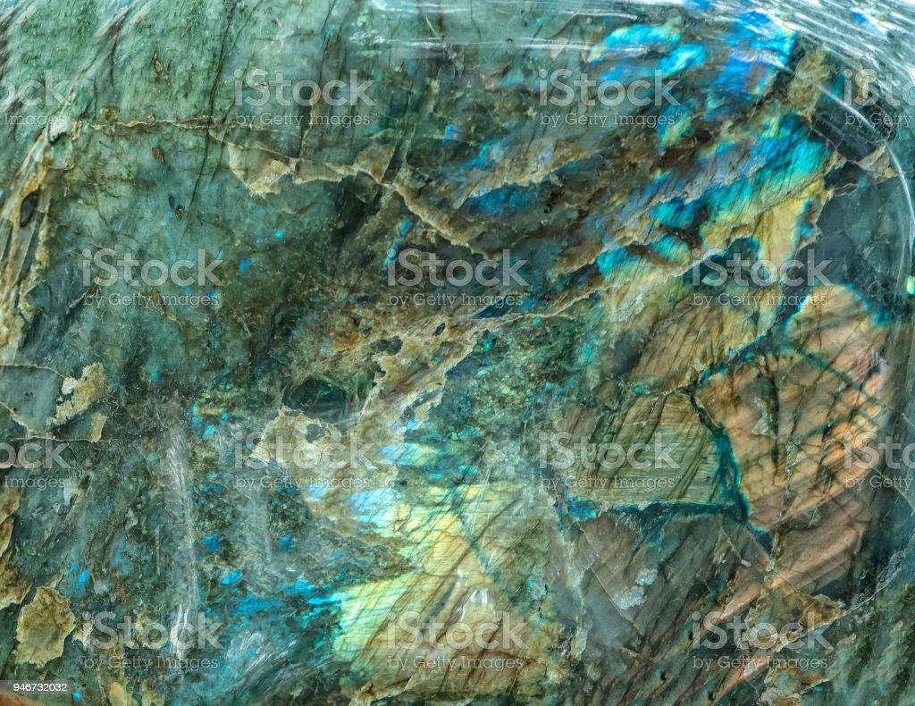 Chalcedon Mineral Stein mit verschiedenen Steinartefakte aus der Kristallisation aus vulkanischem Gestein – Foto