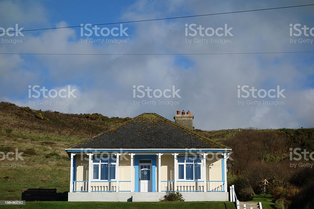 chalet, cottage royalty-free stock photo